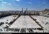 صبحگاه مشترک عهد سربازی-مسجد جمکران