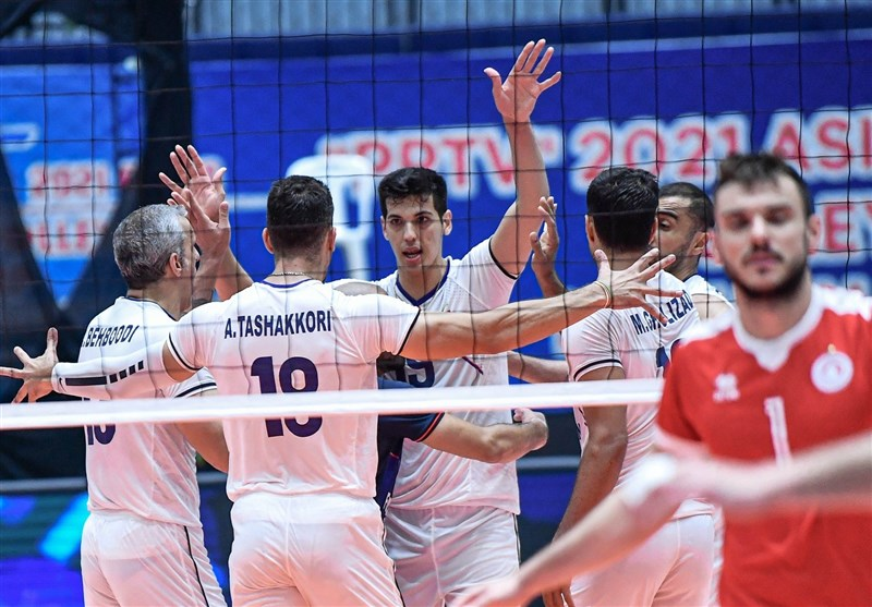 تعهد والیبال ایران به قاره آسیا