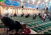 مراسم جشن تجدید بیعت با حضرت ولی عصر (عج) در بوشهر برگزار شد +تصاویر
