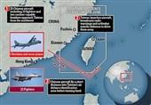 چین اعزام ناوهای جنگی آمریکا و کانادا به تنگه تایوان را محکوم کرد