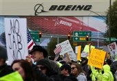Boeing Workers Stage Protest near Seattle over US Vaccine Mandate