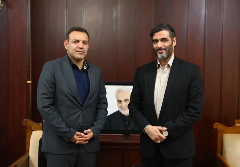 نشست مشترک رئیس فدراسیون فوتبال و دبیر شورای عالی مناطق آزاد
