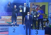 مردان تکواندوی ایران بر سکوی قهرمانی جام فجر ایستادند
