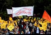 اجتماع مردمی عید بیعت با امام زمان (عج) در اصفهان به روایت تصویر
