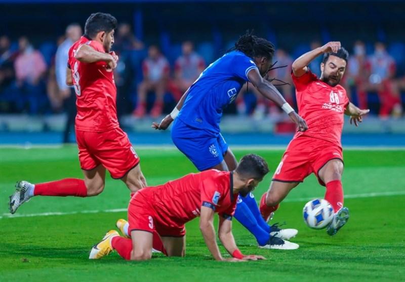 لیگ قهرمانان آسیا| شکست یک نیمهای پرسپولیس مقابل الهلال