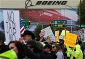 تظاهرات کارکنان بوئینگ به دلیل اجباری شدن واکسن کرونا