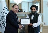 دیدار نماینده ویژه قزاقستان با معاون نخست وزیر طالبان