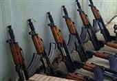 73قبضه سلاح در مرزهای غربی کشور کشف شد
