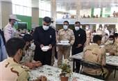 3000 مدافع وطن از غذای متبرک امام رضا(ع) بهرهمند شدند+ تصاویر