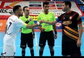 روایت تصویری تسنیم از دیدار تیمهای فوتسال گیتیپسند اصفهان و کراپ الوند