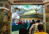 دسترسی زائران به ضریح حرم حضرت معصومه(س) فراهم شد