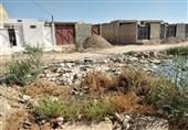حفرههای فاضلاب خطری جدی برای جان کودکان شهرک طالقانی در استان خوزستان است