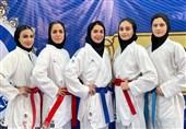 ترکیب تیم ملی کاراته بانوان برای مسابقات جهانی امارات مشخص شد