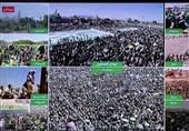 پیامهای قدرتنمایی یمنیها در سیاسیترین مراسم مذهبی