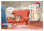 کاریکاتور/ آسیب به سلامت روان دانشآموزان با تعطیلی مدارس