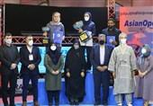 قهرمانی تیم تکواندوی بانوان ایران در مسابقات آزاد آسیا