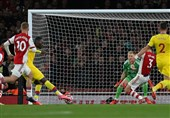 لیگ برتر انگلیس| فرار آرسنال از شکست خانگی در دقیقه 5+90