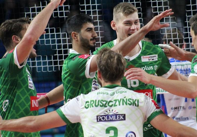 لیگ والیبال لهستان| پیروزی یاران صالحی بر شاگردان کولاکوویچ