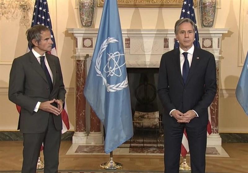 بیانیه وزارت خارجه آمریکا درباره دیدار مدیرکل آژانس اتمی با بلینکن
