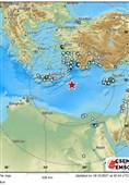زمین لرزه 6.4 ریشتری در دریای مدیترانه/ مصر، لبنان و فلسطین لرزید