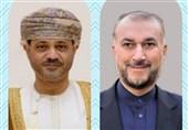 مباحثات ایرانیة - عمانیة تتناول العلاقات الثنائیة والقضایا الاقلیمیة والدولیة