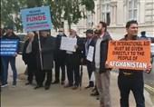 تجمع افغانهای مقیم لندن برای آزادسازی داراییهای افغانستان
