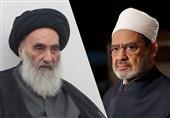 شیخ الازهر مصر با آیت الله سیستانی در نجف اشرف دیدار میکند