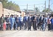 افتتاح سالن شهید جوزی شهرستان خدابنده با حضور رئیس فدراسیون ووشو
