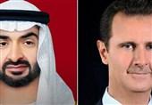 تماس تلفنی بشار اسد و ولیعهد ابوظبی