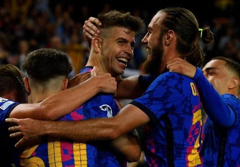 لیگ قهرمانان اروپا  ثبت اولین پیروزی بارسلونا با گلزنی پیکه/ سالزبورگ صدرنشین گروه خود ماند