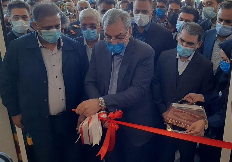 بیمارستان ٢٧٢ تختخوابی تربت حیدریه با حضور وزیر بهداشت افتتاح شد