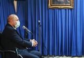 قالیباف در دیدار با آیت الله نوری همدانی: کنترل نقدینگی و کاهش قیمت کالاهای اساسی از اولویتهای مجلس و دولت است