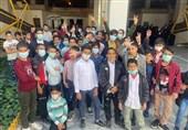 کودکان و نوجوانان مهاجر افغانستانی مهمان امام رئوف