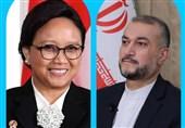 مباحثات ایرانیة - اندونیسیة تتناول العلاقات الثنائیة والقضایا الاقلیمیة والدولیة