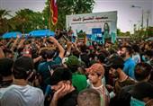 تحصن دوباره معترضان عراقی در منطقه الخضراء بغداد