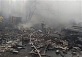 مرگ 16 نفر در آتش سوزی کارخانه شیمیایی در روسیه