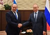 دیدار نخست وزیر رژیم صهیونیستی با پوتین