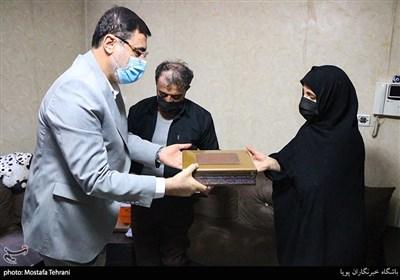 دیدار رئیس بنیاد شهید با خانواده شهدا و جانبازان اهل تسنن+تصاویر