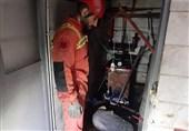 مرگ دلخراش تعمیرکار بر اثر سقوط منبع موتورخانه + تصاویر