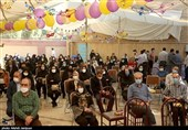 تجلیل از پرسنل بیمارستان امام موسی کاظم(ع) اصفهان به مناسبت میلاد پیامبر اکرم(ص) به روایت تصویر