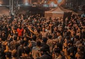 عراق اعتراضات مردمی به نتایج انتخابات به پشت دروازههای منطقه سبز رسید