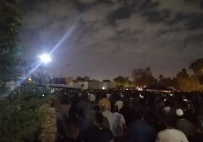 اعتراضات به نتایج انتخابات عراق در اطراف سفارت آمریکا در بغداد+عکس