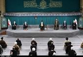 الامام الخامنئی: المؤشر الرئیسی لوحدة المسلمین هو قضیة فلسطین +صور