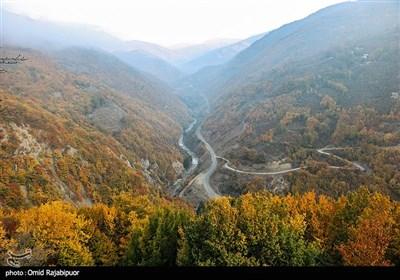 طبیعت پاییزی اشکور رحیم آباد گیلان