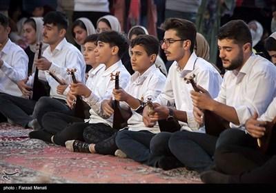 آیین تنبورنوازی بمناسبت هفته وحدت در کرمانشاه