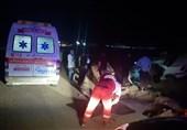 برخورد مرگبار کامیون با خودرو سانتافه در محور گرمسار؛ 3 نفر در دم جان باختند