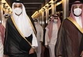 امیر قطر وارد ریاض شد