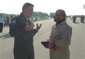فرمانده نیروی هوایی امارات برای اولین بار در تمرین نظامی اسرائیل شرکت کرد