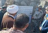 افتتاح سد خاکی در مرزهای شرقی باحضور فرمانده نیروی زمینی سپاه