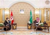 گفتگوی محمدبن سلمان و نخست وزیر تونس
